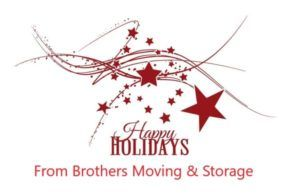 Brothers Moving & Storage Holidays
